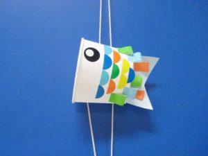 「紙コップでスイスイこいのぼり」 @ 水環境館 多目的ホール