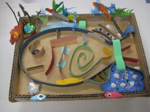 「お魚迷路作り」 @ 水環境館 | 北九州市 | 福岡県 | 日本